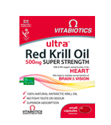 Ultra 500mg Red Krill Oil Capsules
