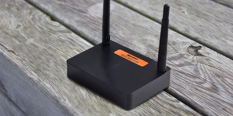 Measy FHD676 Wireless HDMI in the use