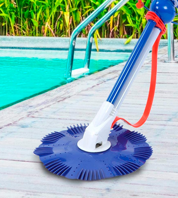 Review of Jacksking Swimming Pool Cleaner Vacuum Sweeper