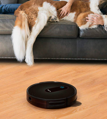 Review of Bagotte BG600 Robot Vacuum Cleaner Pet Hair Care
