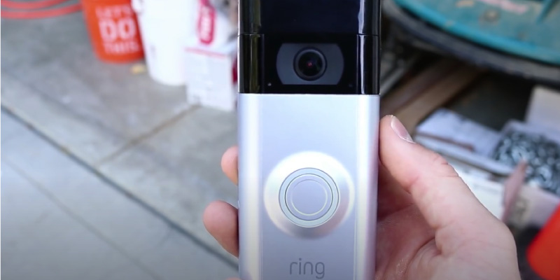 Ring Video Doorbell 3 with Alexa (1080p, Advanced Motion Detection) in the use