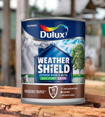 Review of Dulux Weather Shield Quick Dry Satin Paint