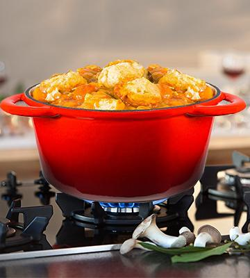 Review of Andrew James Casserole Dish In Cast Iron, 4.6L