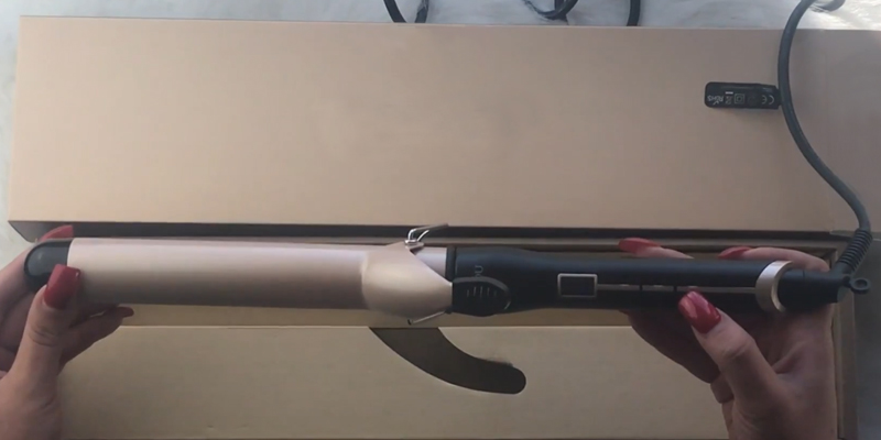 Review of Anjou AJ-HC006 Curling Iron with Ceramic Coating