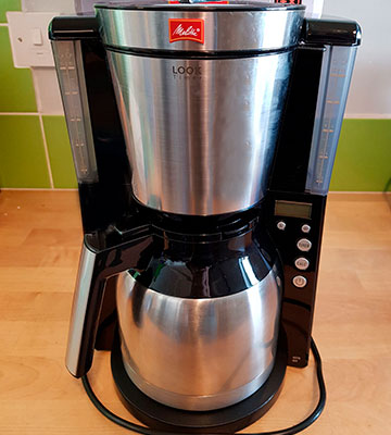 Review of Melitta Look IV Therm Timer, 1011-16 Filter Coffee Machine with Insulated Jug