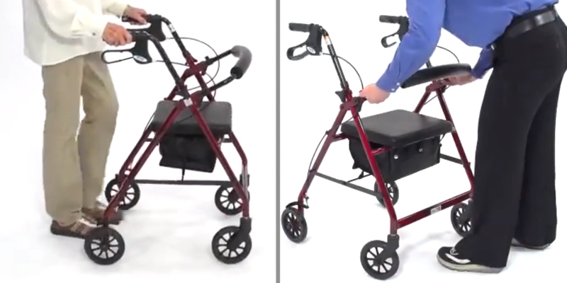 Review of Drive DeVilbiss Healthcare R8 Rollator with Seat