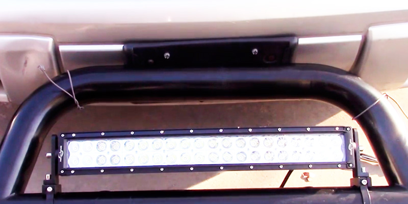 "Detailed review of Mictuning 22"" Light Bar"