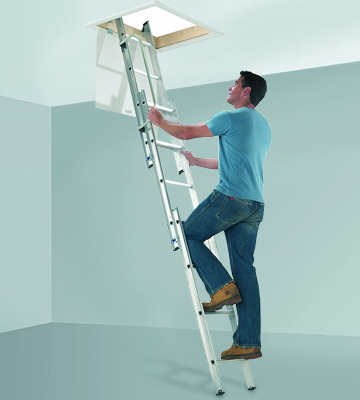 Review of Abru 38003 Abru Arrow 3 Section Aluminium Loft Ladder