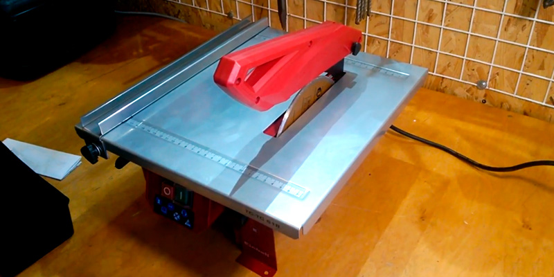 Review of Einhell TH-TC 618 Tile Cutter with Water Cooling System