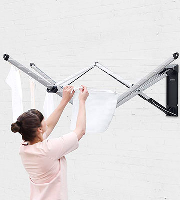 Review of Brabantia 24 m WallFix Retractable Washing Line with Fabric Cover,