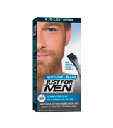 Just For Men M - 20 Light Brown Brush-In Mustache, Beard And Sideburns