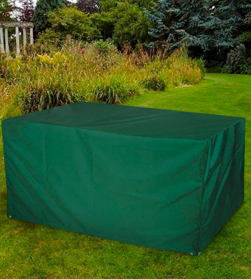 Review of Bosmere Protector 6000 Dark Green Rectangular Table Cover