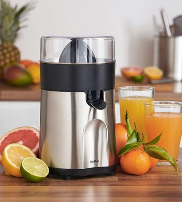 Review of VonShef Premium Electric Citrus Fruit Juicer