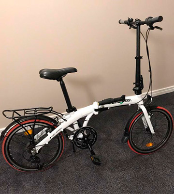 Review of ECOSMO 20 Lightweight Alloy Folding City Bicycle Bike