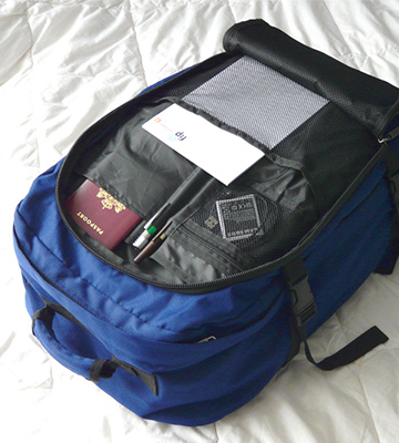 Review of Cabin Max Metz Flight Approved Hand Luggage Backpack