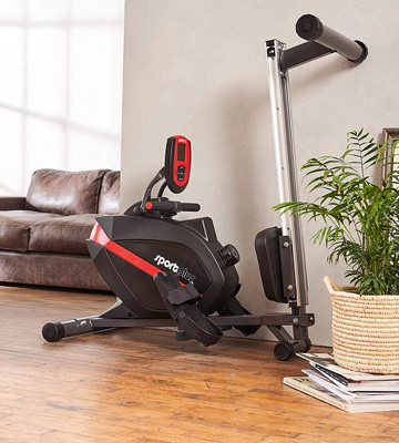 Review of Sportplus SP-MR-008-B Indoor Foldable Rowing Machine