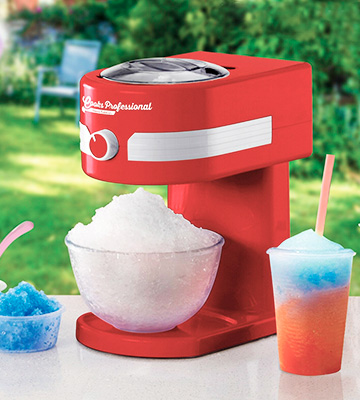 Review of Cooks Professional Crushed Ice Slushie Maker Machine Retro 1950s