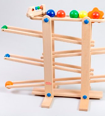 Review of Trihorse Maxi Wooden Marble Run for Children from 1 year old