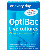 OptiBac Pack of 30 Capsules Probiotics For every day