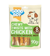 Good Boy Chicken & Rawhide Dog Treats