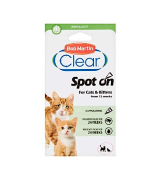 Bob Martin Clear 24 Weeks Repellent Protection Flea and Tick Spot for Cats