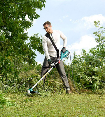 Review of Bosch AFS 23-37 Electric Brush Cutter Heavy Duty Strimmer