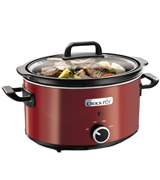 Crock-Pot SCV400RD-060 Slow Cooker, 3.5L, Red