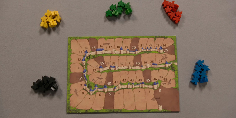 Z-Man Games Carcassonne New Edition Board Game in the use