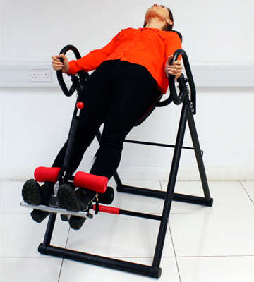 Review of Beauty4Less New Exercise Inversion Table Foldable