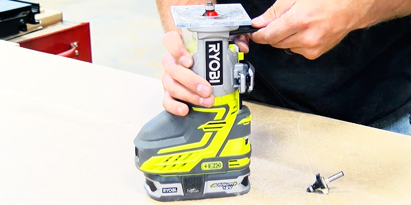 Review of Ryobi R18TR-0 Cordless Trim Router