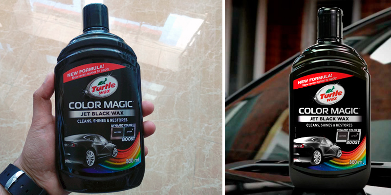 Review of Turtle Wax 52708 Jet Black Wax