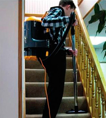 Review of V-TUF VT1000 Industrial Backpack Hoover Vacuum Cleaner