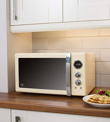 Review of Swan SM22080CN Retro Digital Microwave, 800 W, 20L