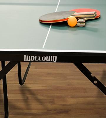 Review of Wollowo Junior Table Tennis Table Junior Table Tennis with Bats