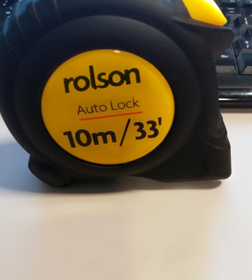 Review of Rolson Tools 50569 Tape Measure, 10m