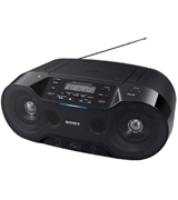 Sony ZSRS70BTB.CEK Wireless DAB Boombox with CD/Bluetooth/NFC/USB Play
