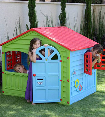 Review of Toyz cbhdh445 Childrens Garden Happy House
