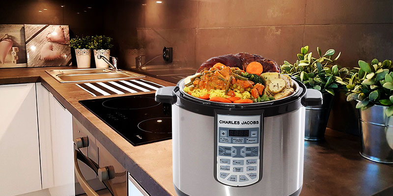 Review of Charles Jacobs COOKER-MK216-SIL Electric Pressure Cooker