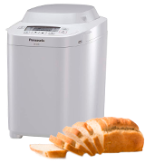 Panasonic SD-2501WXC Automated Breadmaker with Gluten Free Programme