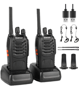 BaoFeng BF-88E Rechargeable Long Range Walkie Talkies