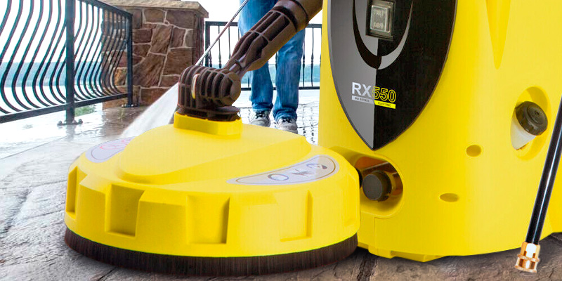 Wilks USA RX550i Highest Powered Electric Pressure Washer in the use