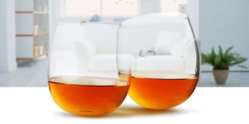 bar@drinkstuff COMINHKPR47950 Whisky Rocking Glasses in the use
