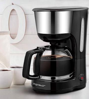 Review of Aigostar Chocolate 30KYJ Filter Coffee Machine