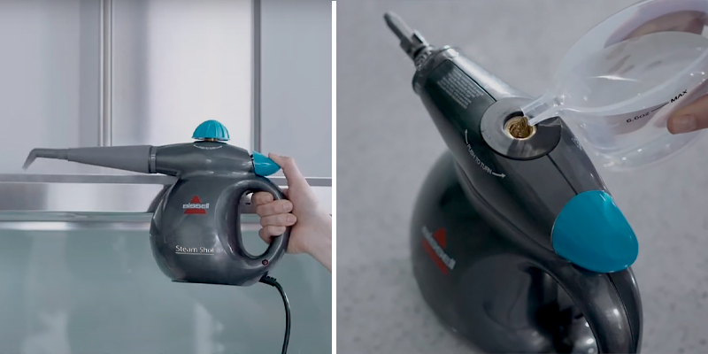 Review of Bissell 2635E SteamShot Multi-Purpose Handheld Steam Cleaner