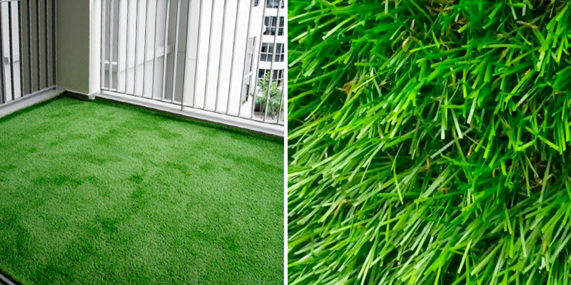 Review of Tuda Grass Direct Luxury 30mm Pile Height Artificial Grass