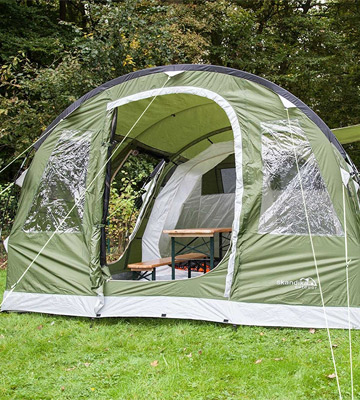 Review of skandika Waterproof Gotland Outdoor Tunnel Tent