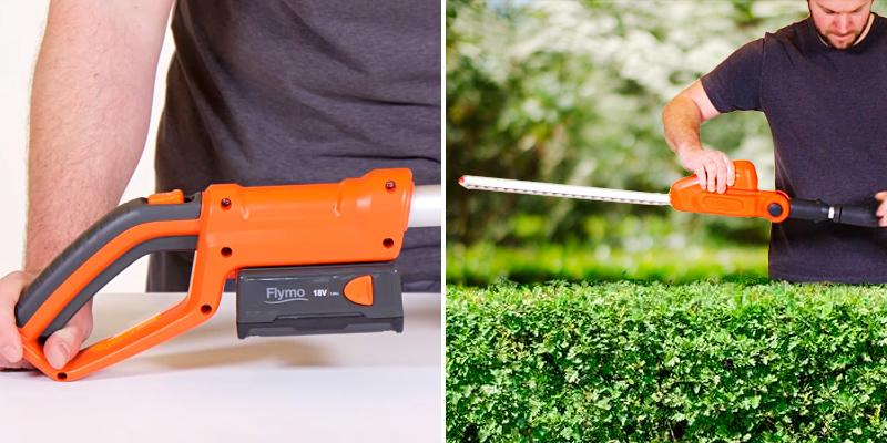 Review of Flymo SabreCut XT Cordless Battery Telescopic Hedge Trimmer