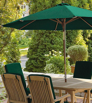 Review of Jati Rectangular Garden Parasol 3x2m
