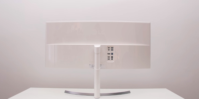 LG Electronics 34UC98-W Curved QHD Thunderbolt in the use