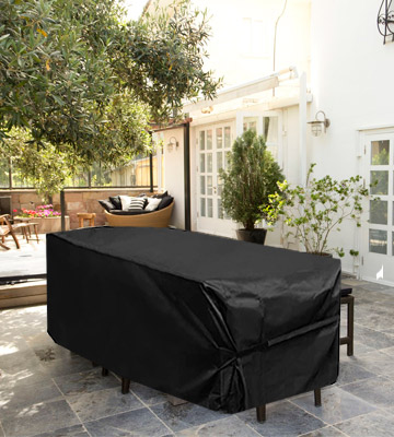 Review of King Do Way 600D Heavy Duty Oxford Garden Furniture Covers